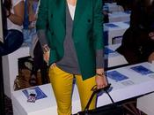 Verde amarillo como Olivia Palermo