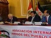 Constituida nueva asociaciòn Amistad Pueblo Saharaui Peru