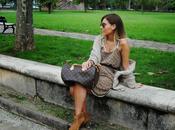 Fall dress.