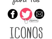 Cómo añadir iconos sociales efecto hover