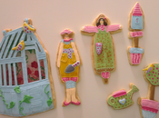 galletas decoradas para concurso Madrid Fashion Cake 2013