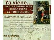 Programa fiestas honor Lucas 2013