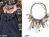 Cazaclones:Collar Saint Laurent Zara