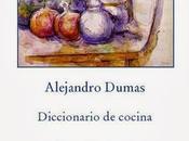 Diccionario Cocina Alejandro Dumas