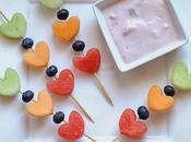 Fruta yogurt