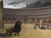 verdad romanos echaron tantos cristianos leones?
