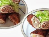 Flamenquines pollo jamón serrano queso