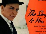 Frank Sinatra color naranja, oculta persuasión. pintor