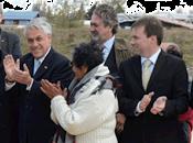 Mandatario inaugura segunda etapa parque costanera natales