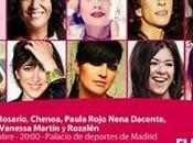 Rosana, Luz, Rosario, Chenoa cantan este sábado Madrid contra cáncer mama