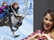 Violetta pone música Frozen