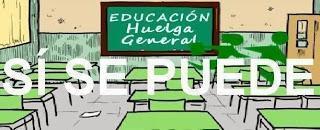 24-O: Educación HUELGA GENERAL