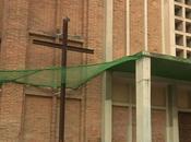 Poblenou, iglesia sant bernat calbó, barcelona...dedicado josep estruel, petó...24-10-2013...