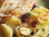 Receta: Cabracho horno patatas panaderas