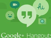 Google integra mensajería texto video Hangouts