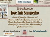"""Entrevista José Luis Sampedro, autor libro """"Con nombre apellidos"""""""