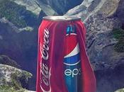 Pepsi viste Coca Cola