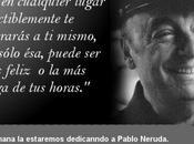 Semana dedicada Pablo Neruda