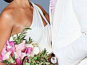 Alicia Keys, otra famosa eligió Vera Wang, como diseñadora vestido novia