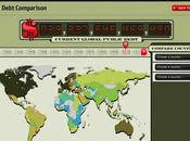 Mapa interactivo sobre Deuda Países (The Economist)