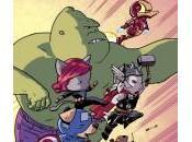 Portadas alternativas animales para Avengers World Silver Surfer