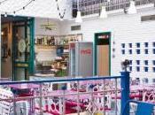 Decoración vintage hostelería utilizando mobiliario retro Dadra