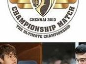 Anand Carlsen Campeonato Mundo Ajedrez 2013
