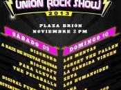 Entrega Premios Union Rock Show 2013