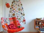 idea miercoles..................un arbol navidad original