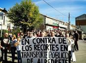 Sigue lucha transporte público Alpedrete
