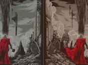 Póster Mondo para Thor: Mundo Oscuro