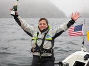Sarah Outen convierte primera mujer cruzar Pacífico Norte solitario