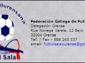 Calendarios Fútbol Sala base Ourense 2013/2014
