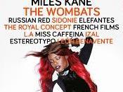 Arenal Sound 2014: Mando Diao, Sidonie, Wombats, Miles Kane, Izal, Estereotypo....
