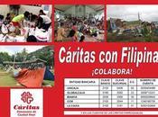 """Campaña donaciones """"Cáritas Filipinas"""""""