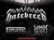 Hatebreed, Napalm Death Exploited girarán España 'Resurrection Tour Chaos 2014'