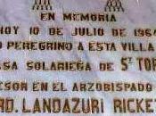 Cardenal Landázuri, legado papal, Congreso Eucarístico Nacional España. Recuerdo Santo Toribio 1964