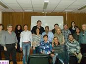 Asistentes taller AMES JAÉN sobre reanimación cardio-pulmonar.