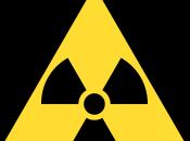 símbolo radioactividad