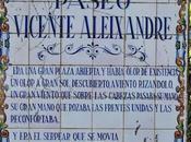 Jardines Reina Cristina (2): Paseo Vicente Aleixandre.