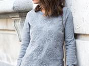 Sequined Skirt Sweatshirt