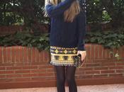 Wool Sweater skirt