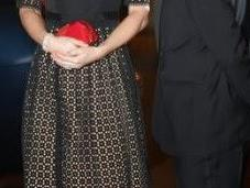 Kate Middleton, Temperley London Jimmy Choo, SportsBall Londres