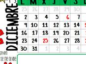 Calendario diciembre 2013 {listo para imprimir}