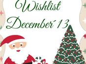 Wishlist December´13