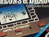 """D&D Computer Fantasy Game:Una """"maquinita"""" Mattel"""