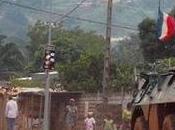 Centroáfrica. Llegan soldados franceses