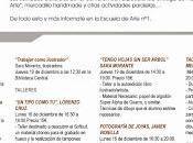 Semana Cultural 2013 Escuela Arte Puente Miguel