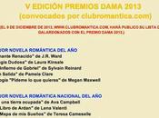 Nominaciones premios dama 2013