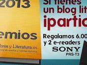 Premios Libros Literatura 2013. Concursando!!!!
